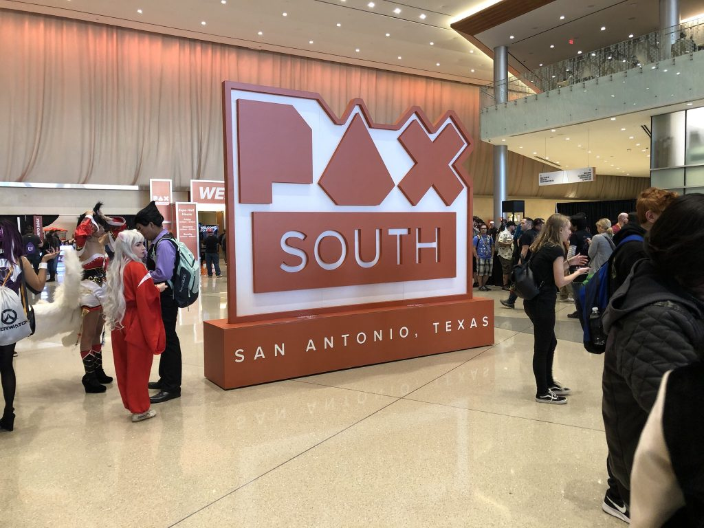 PAX South Lobby Banner